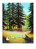 Cazadero Poster - Wine Country Posters & Art by Warren R. Percell Sr.