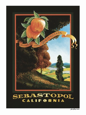 Sebastopol - Wine Country Posters & Art by Warren R. Percell Sr.